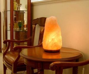 Светильник из солевого камня польза и вред