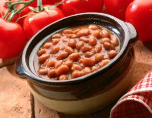 Фасоль печеная в томатном соусе польза и вред