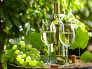 Сухое белое вино польза и вред для похудения