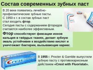 Фтор в зубной пасте вред или польза