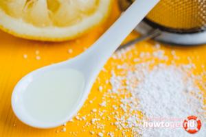 Вода с лимонной кислотой польза и вред