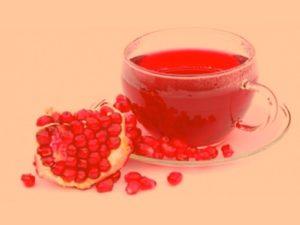 Чай гранатовый польза и вред в какое время пить