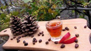 Спиртовая настойка на кедровых орешках польза и вред