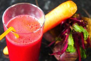 Свежевыжатый сок из свеклы и моркови польза и вред