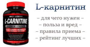 Л карнитин польза и вред для организма