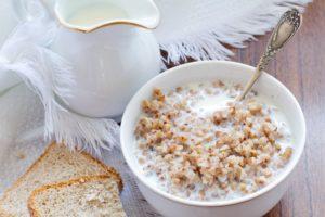Гречка с молоком для похудения польза и вред