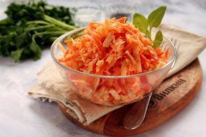 Морковка с чесноком и майонезом польза и вред
