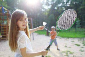 Бадминтон польза и вред для детей