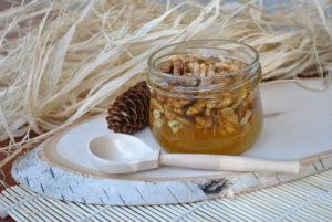 Мед с грецкими орехами польза и вред