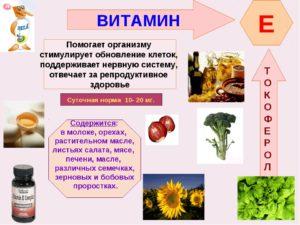 Польза и вред витамина е для женщин