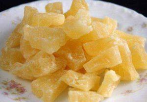 Цукаты из ананаса калорийность польза и вред
