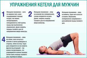 Упражнения кегеля для мужчин вред и польза