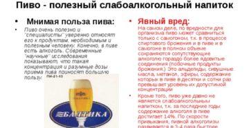 Безалкогольное пиво вред и польза для женщин
