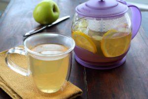Чай зеленый с лимоном и имбирем польза и вред
