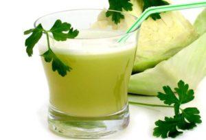Сок из свежей капусты польза и вред