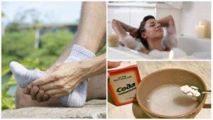 Содовые ванны для ног польза и вред