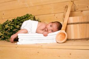 Баня для детей с какого возраста и польза и вред