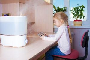 Увлажнитель воздуха польза и вред для ребенка